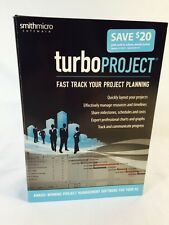 PC Turbo Project Smith Micro Software *NEW* Fast Track Your Project Planning