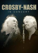 Crosby/Nash: In Concert DVD (2011) David Crosby cert E ***NEW*** Amazing Value