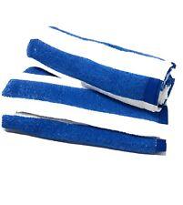 Blue And White Stripe Cabana Beach Towel 100% Cotton