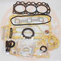 L3E FULL OVERHAUL GASKET KIT FOR MITSUBISHI ENGINE PELJOB EB12.4 EB14 REBUILD