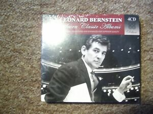 Leonard Bernstein - Seven Classic Albums (4CD Box Set) *BRAND NEW & SEALED*
