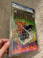 Metal Men #27 Key Origin Issue Decapitation Cover DC Silver-Age 1967 CGC 5.5
