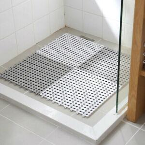 4PC/Set Non Slip Bathtub Mat Bathroom Mat Rug Plastic Bath Shower Floor Carpet