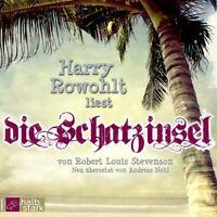 HARRY ROWOHLT - DIE SCHATZINSEL (AB 8 JAHRE) 2 CD NEU