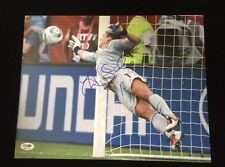 "USA SOCCER HOPE SOLO AUTOGRAPHED 11""x 14"" PHOTOGRAPH PSA DNA ITP 3A98782"