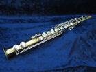 Borgani Straight Soprano Saxophone Ser#5768 Plays but Needs an Adjustment