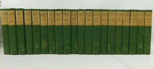 !!Theodore Roosevelt COMPLETE Written Works 1926 Scribner 20 Volume VTG Book Set