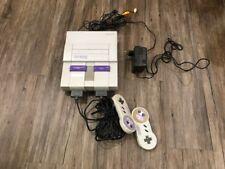 Super Nintendo SNES Console SNS-001 Asia 220V Used Vintage Rare