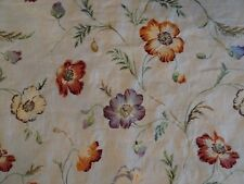 """Stunning Colefax & Fowler Fabric """"Pembury Linen"""" in Red/Blue - 8 Yards"""