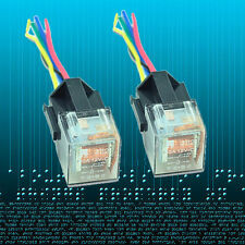 2PACK Car Auto 12V 60A AMP SPDT Transparent Relay & Socket 5Pin 5 Wire USA