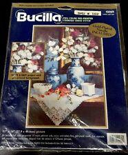 """LUNARIA & LACE"" Embellished Cross Stitch Kit by BUCILLA -Art of Maxine Johnston"
