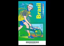 Gustavo Kuerten tennis player Roland Garros  Mi BL116, Yt BF113, RHM 121