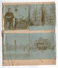 1900s FORT HILL LOWELL Original Photographs PHOTOS Lot MASSACHUSETTS Middlesex