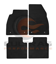 2013-2016 Buick LaCrosse GM Front & Rear All Weather Floor Mats Black 23101701