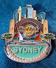 SYDNEY AUSTRALIA 2018 CORE ICON SERIES YACHTS HARBOUR BRIDGE Hard Rock Cafe PIN