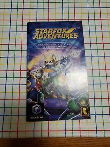 📌 MANUAL - Starfox Adventures ' Gamecube (GC)