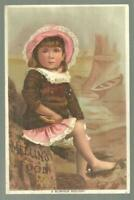 Mellin's Food for Infants and Invalids Lot Four Victorian Trade Cards Children