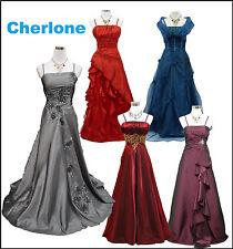 Formale ärmellose Damenkleider aus Satin