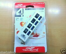 Terabyte High speed (Upto 480 Mbps) 4 Port USB HUB 3.0 With Individual Switches