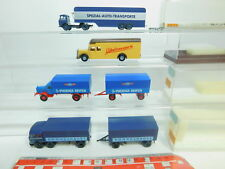 BO868-0,5 #4x Brekina H0 / 1:87 Camión MB: 7525 Kühne +4405 +48586 +5500 ,S. G
