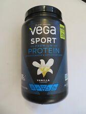 Vega Sport Plant-Based Premium Protein Vanilla Flavor 29.2 Oz 20 Servings @O