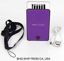 USB Mini Fan Air Conditioning Blower for Eyelash Extension (Purple)