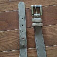 Vintage Levi Belt Leather Khaki Color Size 30