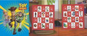 2019 Australia - Disney Pixar Toy Story 4 - Souvenir Stamp Pack