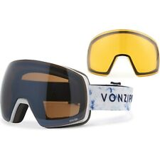 Von Zipper Satellite Snow Sport Goggles -for men - White + Bonus Lens - NEW!!