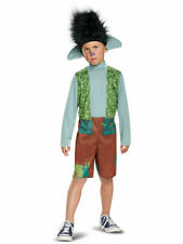 NEW Trolls Branch Classic Boy's Costume Small 4-6 Disguise