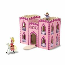 Malissa and Doug wooden princess castle fold and go