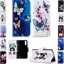 Magnetic PU Leather Wallet Flip Case Cover For Huawei P20 P20 Lite Samsung S9 A8
