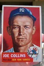 1953 Topps Baseball #9 Joe Collins - New York Yankees