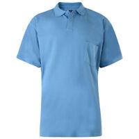 Kam Superior Quality Extra Long Length Polo Shirt 2XL-8XL Powder