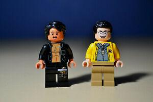 NEW LEGO Jurassic Park Ian Malcolm & Dennis Nedry Minifigures 75936