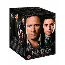 Numb3rs Seasons Series 1-6 Complete 1 2 3 4 5 & 6 DVD Box Set  Numbers