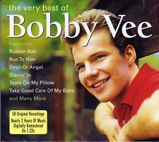 BOBBY VEE - THE VERY BEST OF - 50 ORGINAL RECORDING (NEW SEALED 2CD)