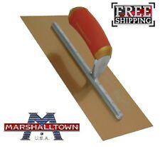 "Marshalltown 12"" X 5"" Permashape Finishing Trowel Gold Series Stainless Steel"