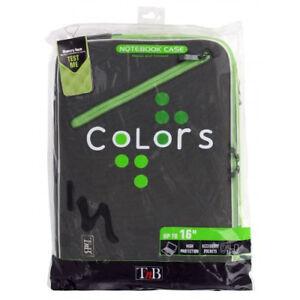 T'nB Colors Housse de protection pour PC portable 16'' Gris/Vert