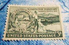 Scott # 1019 US Single 3 Cent  Stamp Washington Territory MNH