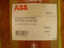 ABB QSS23225L  3-POLE 225AMP 240V NIB MOLDED CASE SWITCH