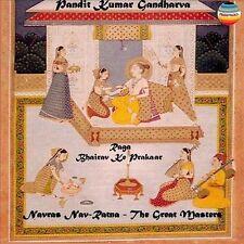 Raga Bhairav Ke Prakaar - Pandit Kumar Gandharva (2000, CD New)