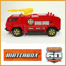 Airport Fire Tanker.  Matchbox Airport. Loose, Fresh out of box.