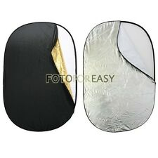 35''x 47'' Collapsible 5-in-1 Photo Reflector Oval Disc