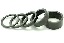 "OMNI Racer WORLDS LIGHTEST 1"" Carbon Headset Spacers Spacer Set 1""-2,3,5,10,15mm"