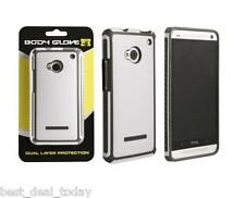 OEM Body Glove Tactic Case Cover Fit For HTC One 1/M7 White Charcoal G