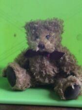 """Vintage Russ Teddy Bear """"Gregory"""" Designed By Carol-Lynn R0Ssel Waugh"""