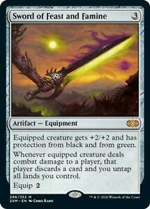 Sword of Feast and Famine - Double Masters - Magic The Gathering MTG
