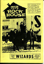 ROCK HOUSE Fanzine No IV  (1993)  60s Beat / Garage / Mod & Psych / The Wizards