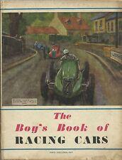 Tha Boy's Book of Racing Cars Automobilia 1948